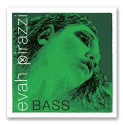 Pirastro Evah Pirazzi 3/4 String Bass E String - Medium Gauge - Chromesteel/Synthetic Fiber